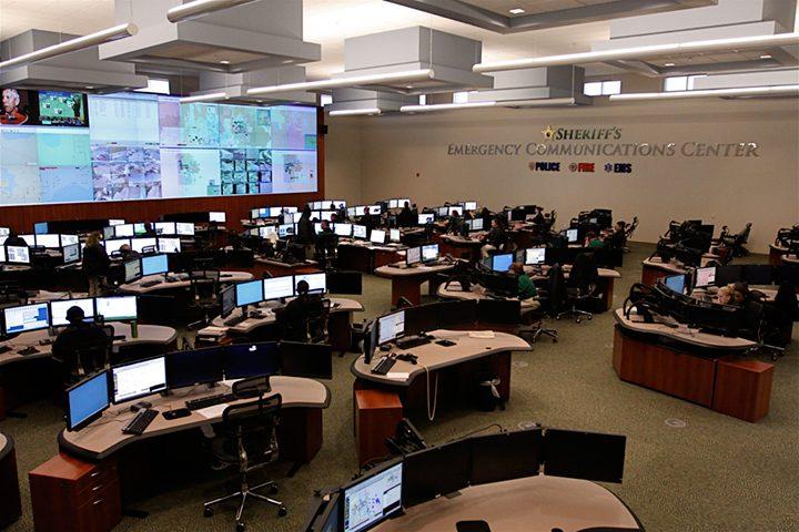 Public Safety Center Interior