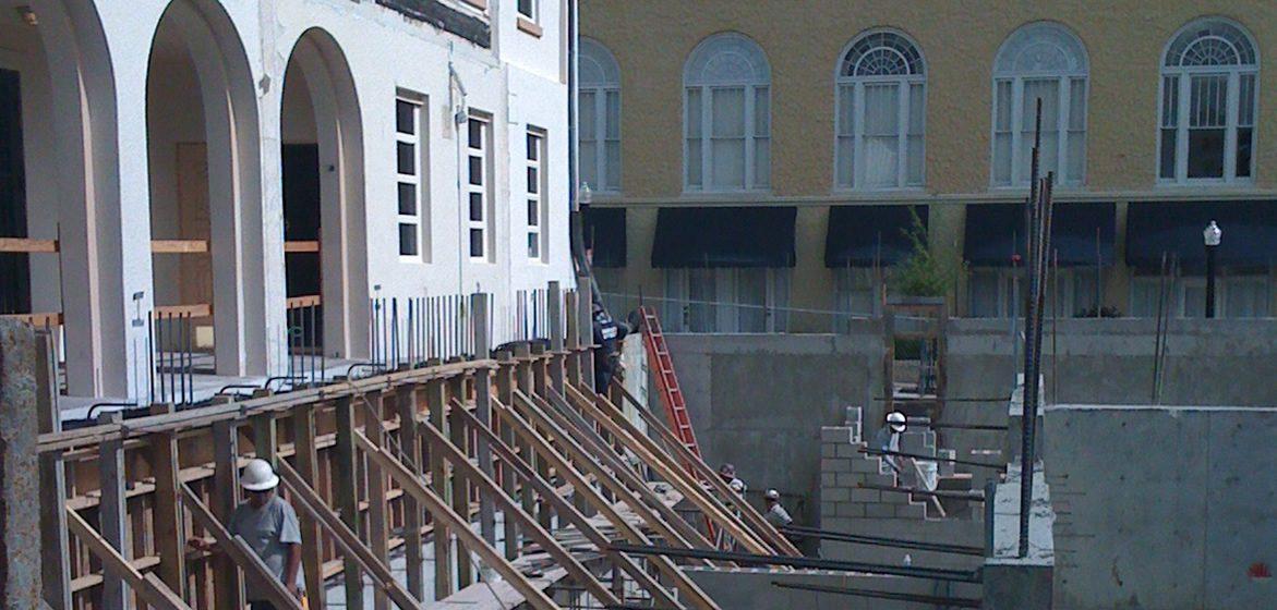 All Saints Register Construction